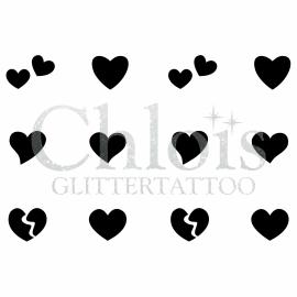 Hearts (Multi Stencil 7+)