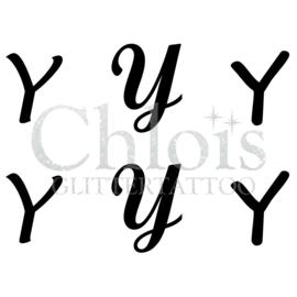 Letter Y (Multi Stencil 6)