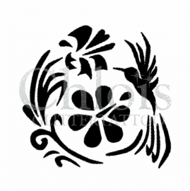 Flower Colibri