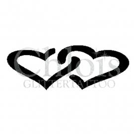 Schablonen Herz