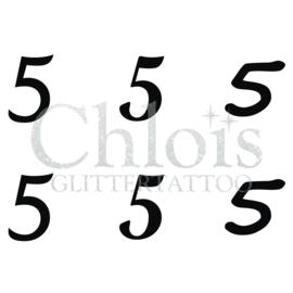 Number 5 (Multi Stencil 6)