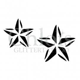 Two Stars 2 (Duo Stencil)