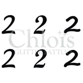 Number 2 (Multi Stencil 6)