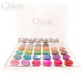 Chloïs Glitterbox 30 colors