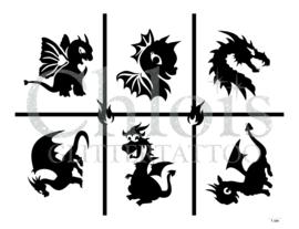 Dragon (Theme Stencil)