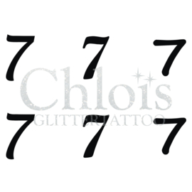 Number 7 (Multi Stencil 6)