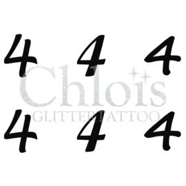 Number 4 (Multi Stencil 6)