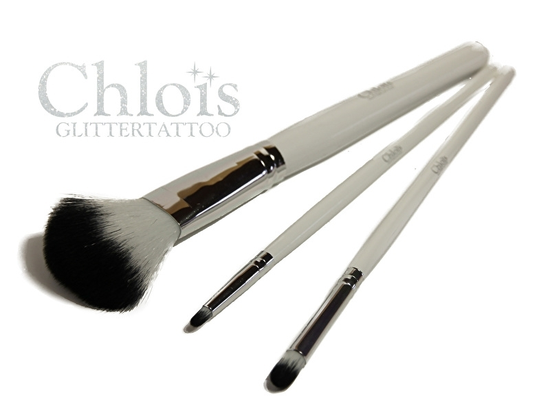 Chloïs Glittertattoo Brushset Pro (3 brushes)