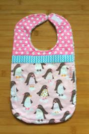 XL Slab pinguïn roze