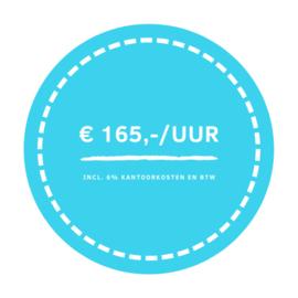 € 165,-/uur