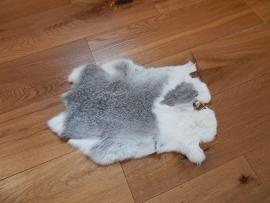 Lederen konijnen vacht