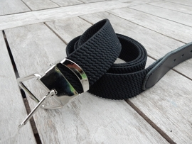 Elastieke riem 3 cm zwart