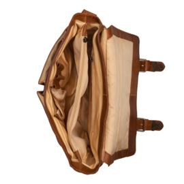 Burkely Glenn Messenger Bag - Cognac