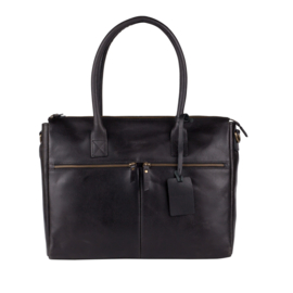 Burkely Valerie Laptop Bag - Zwart