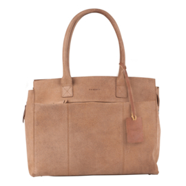 Burkely Doris Laptop Bag - Taupe