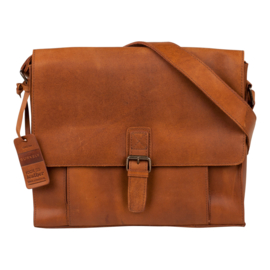 Burkely Mick Messenger Bag - Cognac