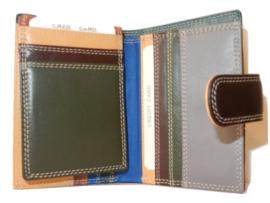 Lederen burkely multi wallet brown