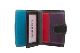 Lederen Burkely multi wallet zwart