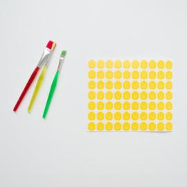 Sticker - Lego hoofd - small