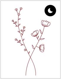 Wall sticker - Poppy