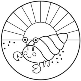 Muurcirkel - Krab