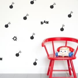 Wall decals - Boomtastic