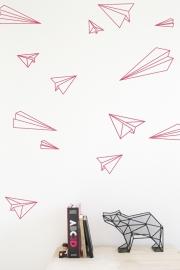 Muurstickers - Vliegtuigen
