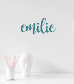 Name Sticker - Handwritten - Bold