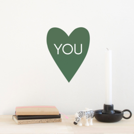 Wall decal - Heart You
