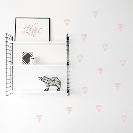 Wall Stickers - Brilliant Diamonds
