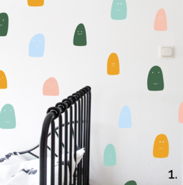 Wall Stickers - Ghosts