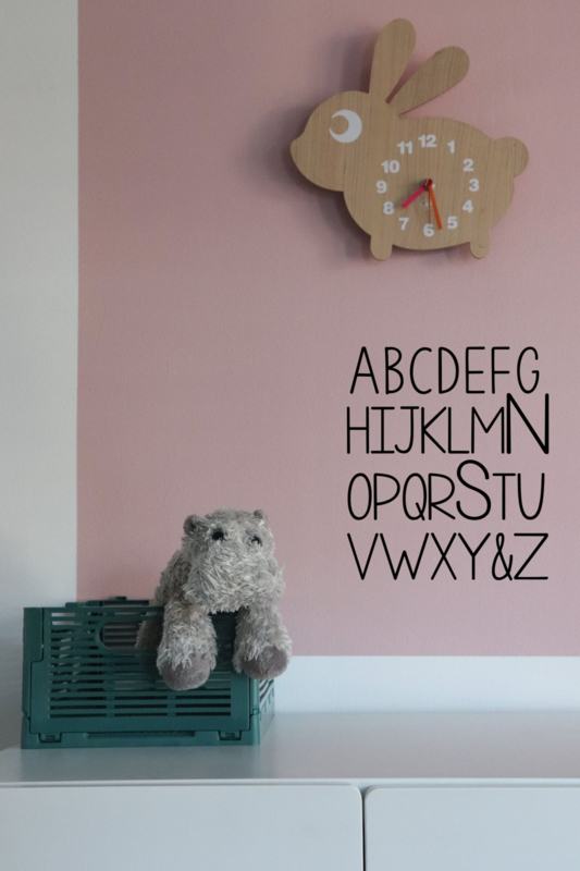 Wall sticker - ABC