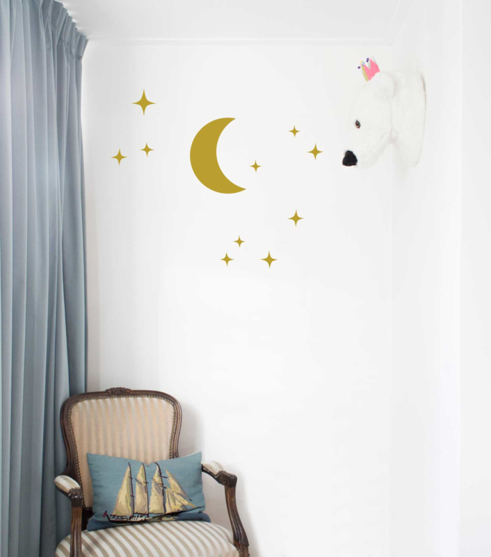 Wall Sticker - Moon