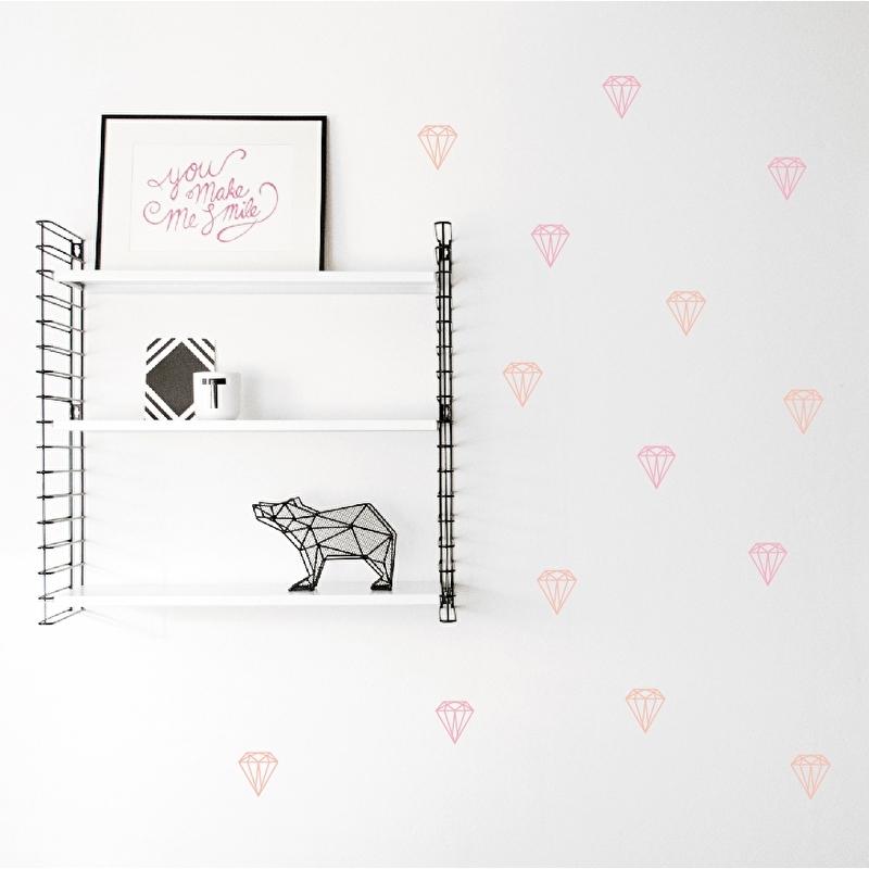 Wall Stickers - Brilliant Diamonds