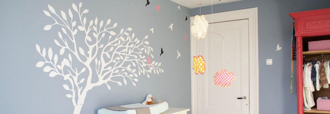 muurschildering-babykamer-boom