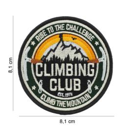 Embleem stof Climbing Club