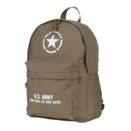 Rugzak Canvas US Army 25L