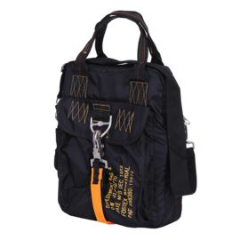 Parachute tas #4 / Kaart-tas Zwart