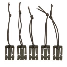MOLLE Elastic Binder 5-pack
