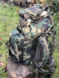 Commando rugzak 75 liter Woodland