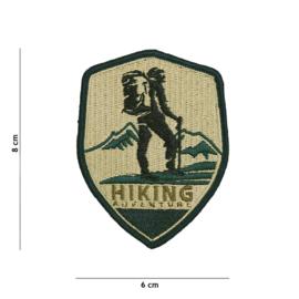Embleem stof Hiking Adventure