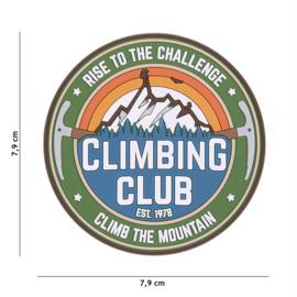 Embleem PVC Climbing Club