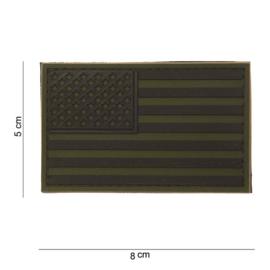 Patch PVC Amerikaanse Vlag