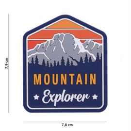 Embleem PVC Mountain Explorer