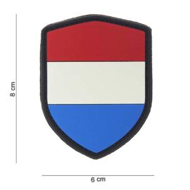 Patch PVC Nederlandse Vlag Schild