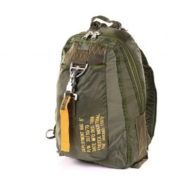 Parachute tas #5 / Rugzak Groen