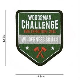 Embleem stof Woodsman