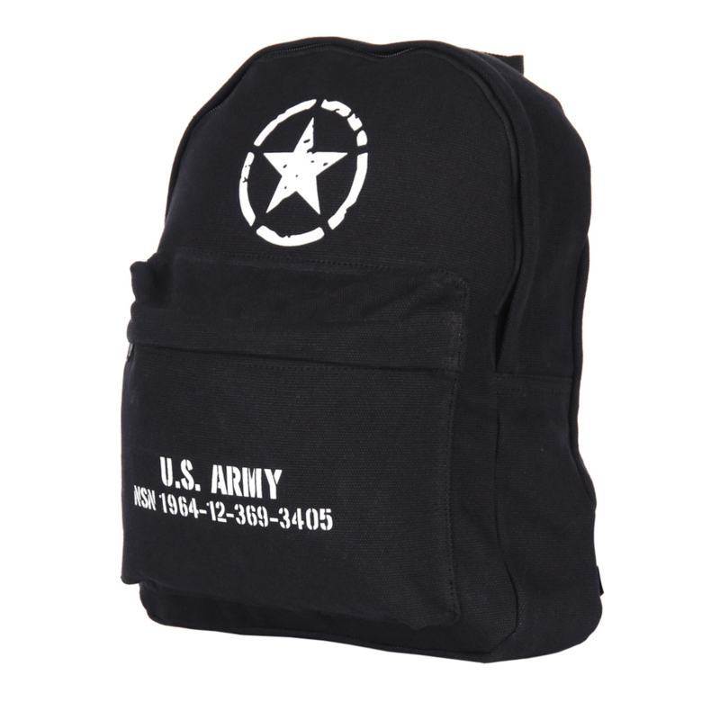 Kinder Rugzak US Army Zwart