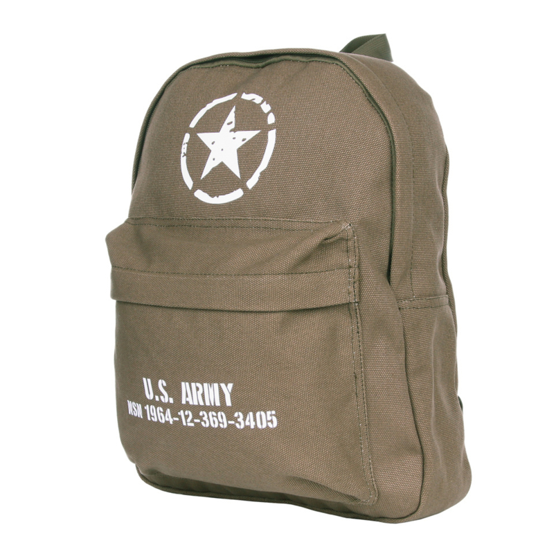 Kinder Rugzak US Army Groen