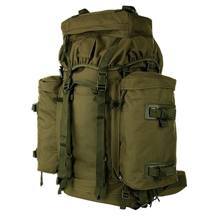 Commando rugzak 75 liter Groen